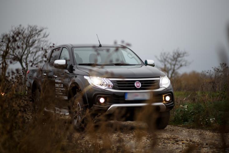 Fiat Fullback: Összkerékhajtás és kényelem – nem csak nehéz terepekhez
