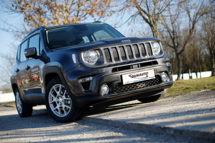 Új Jeep Renegade: Azt adja, amire a vezetőnek szüksége van