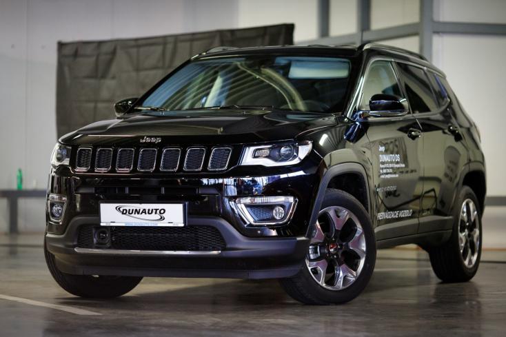 Jeep Compass Limited: Nehéz terepen is luxuskörülmények között
