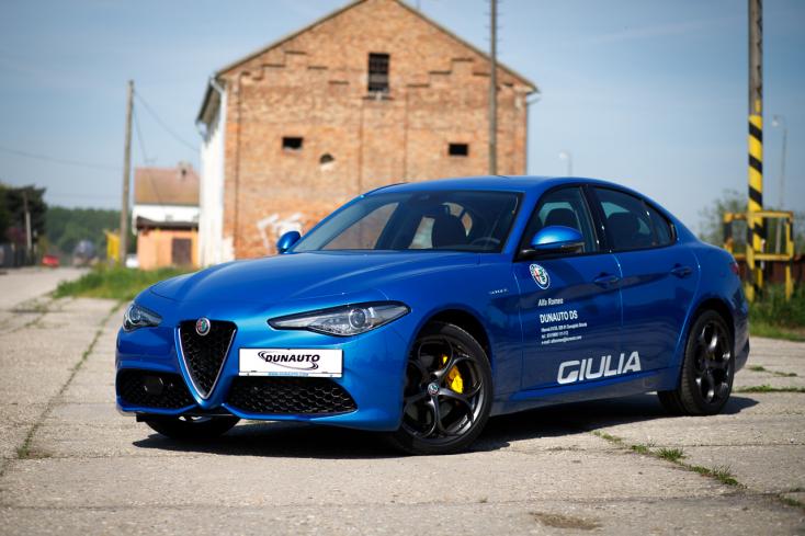Alfa Romeo Giulia Veloce: A luxus és a sport ötvözete négy keréken