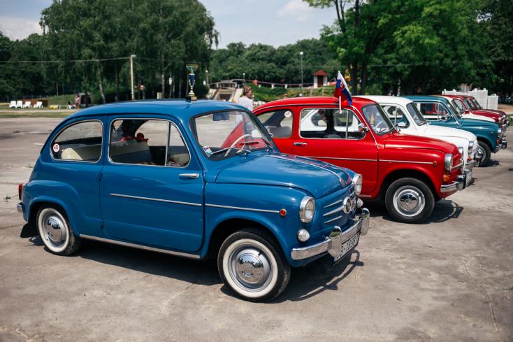 Így zajlott a Fiat 600 rajongói találkozó Nagymegyeren