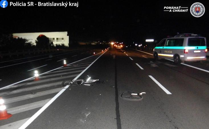 BALESET: 52 éves kerékpárost gázoltak halálra a sötétben