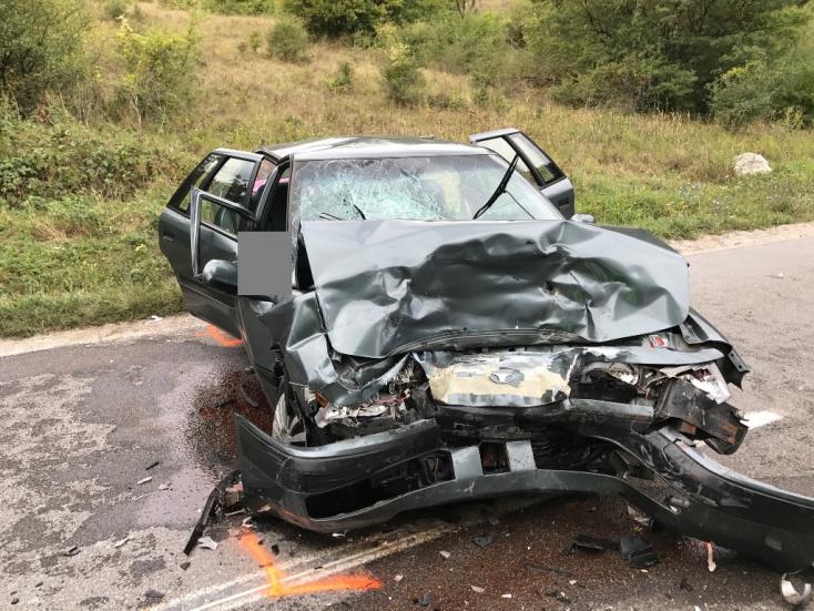 Súlyos baleset történt Nagyszombatnál