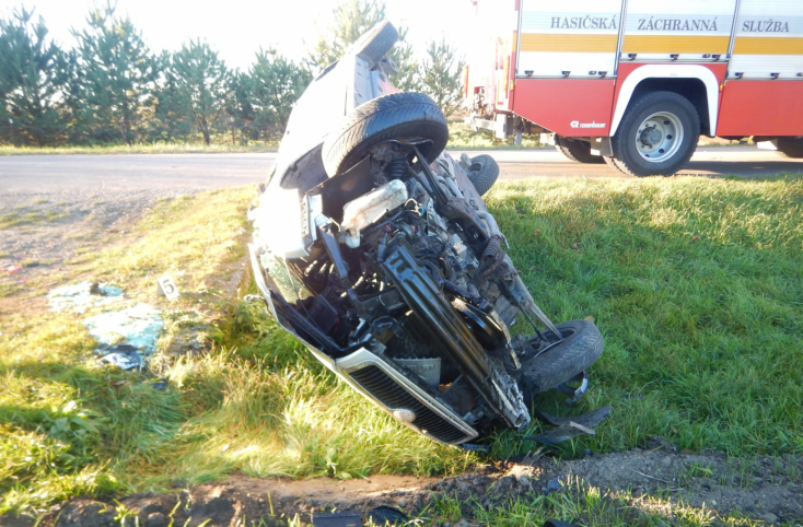 Súlyos baleset történt Ekelen, a Fabia sofőrje a helyszínen életét vesztette