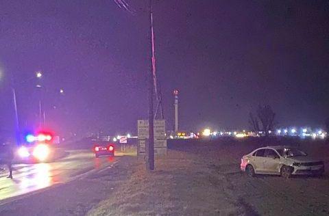 BALESET: Két személykocsi ütközött Pódatejeden
