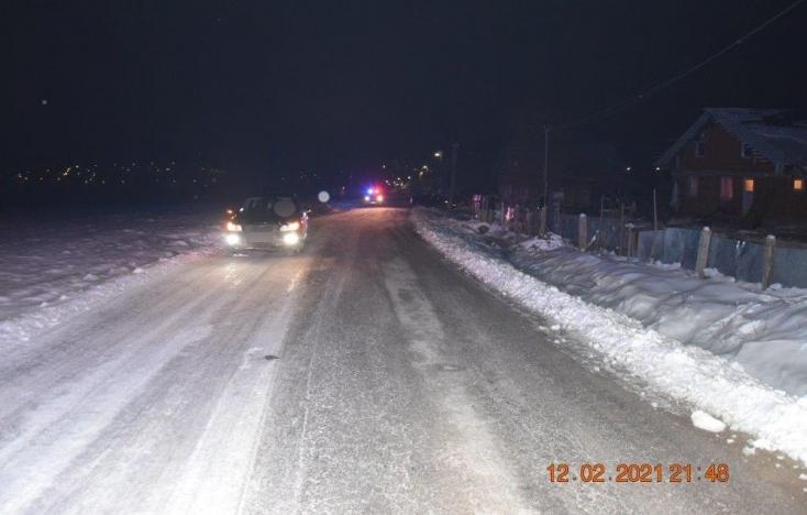 Súlyos baleset: Kitántorgott az útra a részeg férfi, elgázolta egy személykocsi