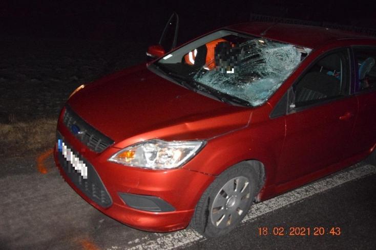Halálos baleset: nem vette észre az autós az úton áthaladó gyalogost