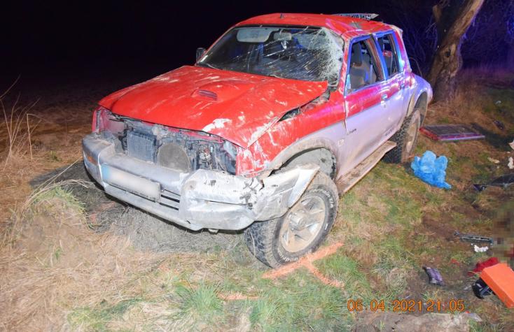 BALESET: Lerepült az útról és felborult a terepjáró, 34 éves férfi vesztette életét