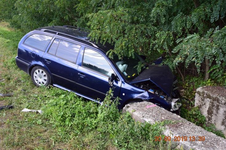 Szarvas ugrott az autó elé, csúnya vége lett (FOTÓK)