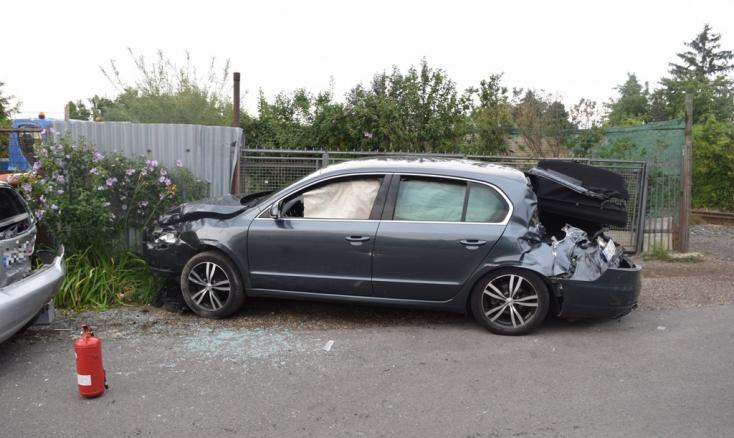 Újabb RegioJet-baleset: Elsodort egy személykocsit a vonat Vereknyén, az autó utasai leléptek a helyszínről