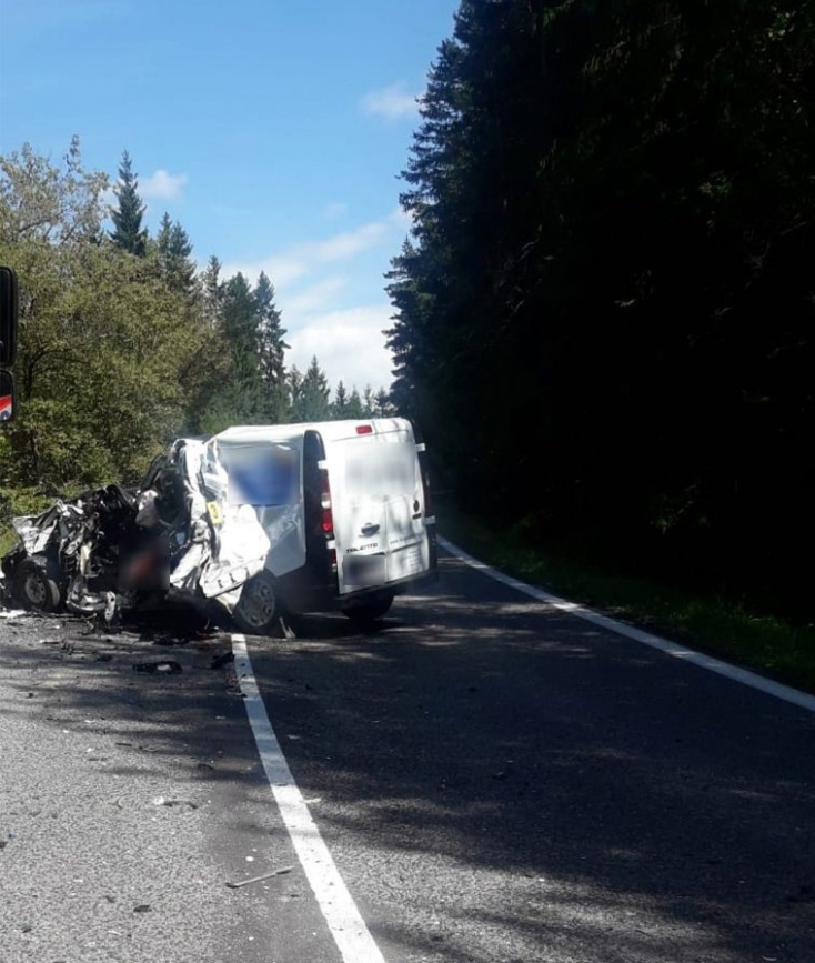 TRAGÉDIA: Ivecóval ütközött a Fiat, nem élte túl a 39 éves sofőrje