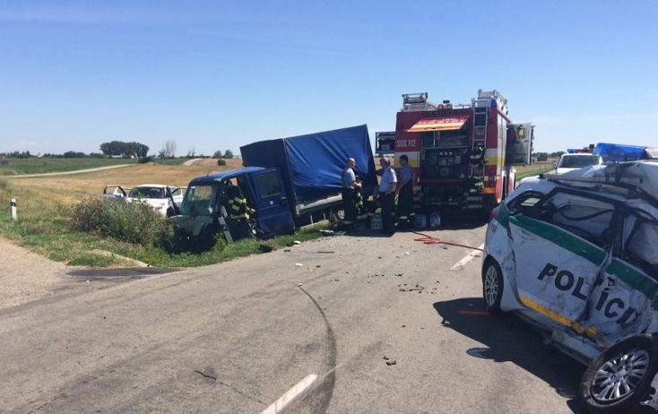 A két rendőr halálát követelő baleset után a furgon 60 éves sofőrje is életét vesztette