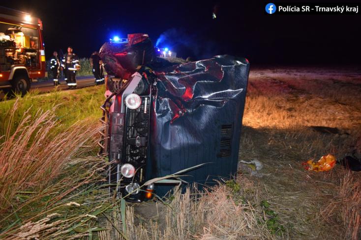 BALESET: Lerepült az útról és fának csapódott egy Lada Bősnél, a sofőr részeg volt (FOTÓK)