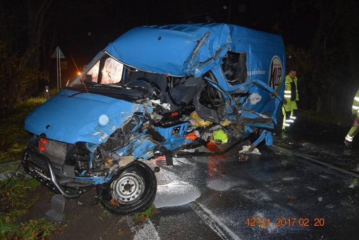 TRAGÉDIA: Furgonnal ütközött a teherautó, 38 éves férfi vesztette életét