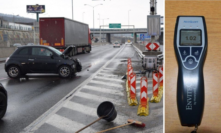 Részegen okozott balesetet az édesanya, hároméves gyereke az autóban ült