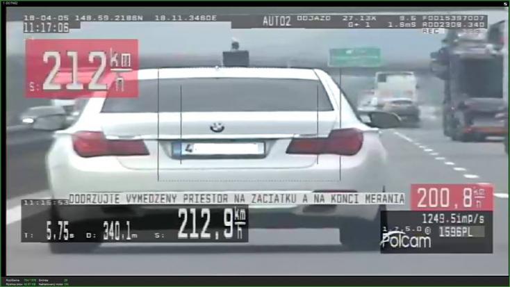 Több mint 200-zal repesztett az autós – kész röhej, hogy mivel magyarázkodott a rendőröknek
