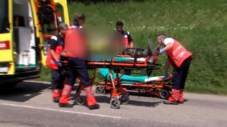Rejtélyes baleset: súlyosan megsérült a motoros, a motorkerékpárnak nyoma veszett