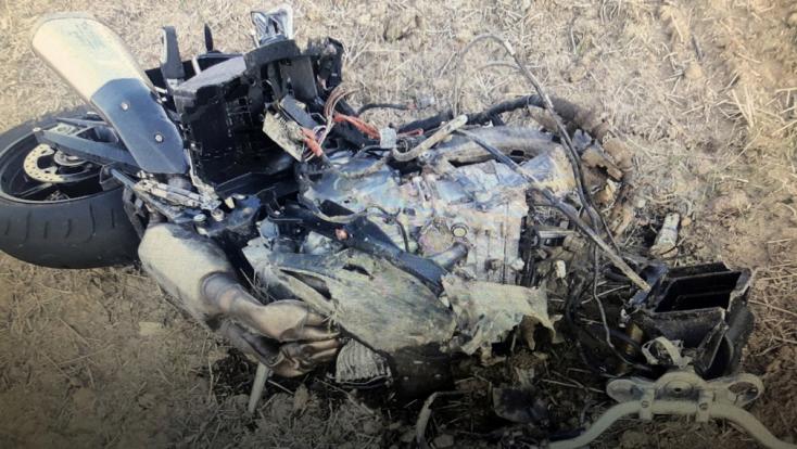 Halálos baleset: Temetésről tartott hazafelé a motoros, amikor frontálisan ütközött