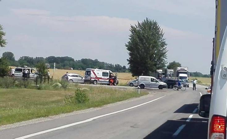 Két baleset majdnem egy időben Dunaszerdahelyen