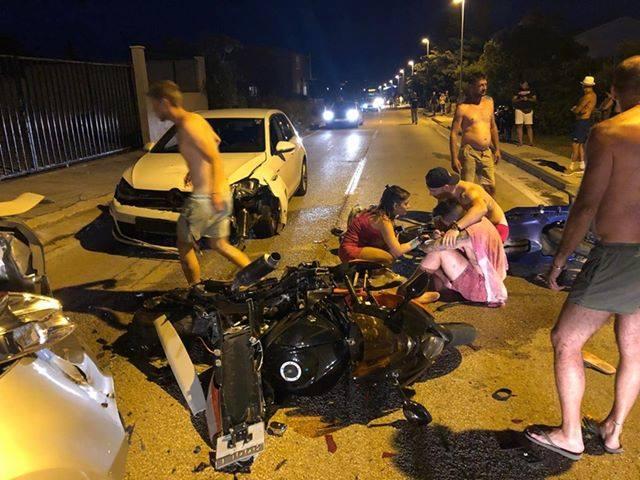 Súlyos balesetet szenvedett a fiatal motoros, alaposan kiosztotta a részeg sofőröket