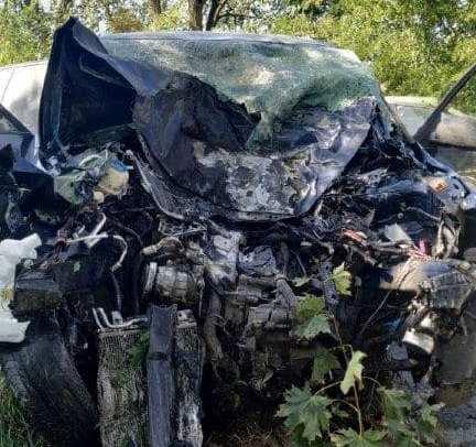 Teljesen szétroncsolódott a Fabia, miután nekirohant egy fának – a sofőr meghalt