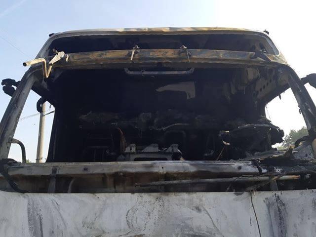 Felgyújtottak egy kamiont a szövetkezetben, majdnem 30 ezres kár keletkezett
