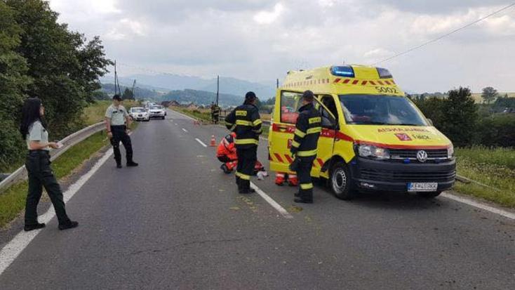 Szarvassal ütközött a motoros – mentőhelikopterrel szállították kórházba (FOTÓK)