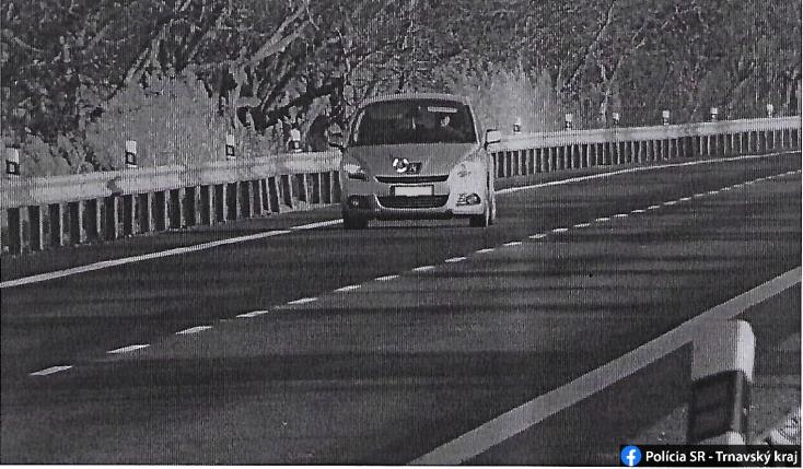 Jócskán rátaposott a gázpedálra egy sofőr a Galántai járásban