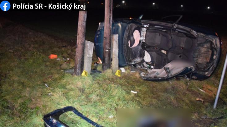 Súlyos baleset: nem figyelt a fiatal sofőr, utastársa belehalt az ütközésbe