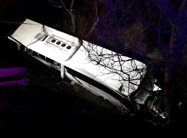 Tragikus baleset: autóbusz és kisbusz ütközött – két ember meghalt, sok a sérült!