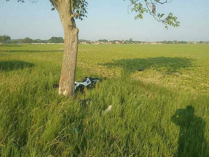 Halálos motorbaleset történt Vásárút mellett