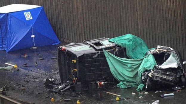 Súlyos közúti baleset Angliában – hatan meghaltak!