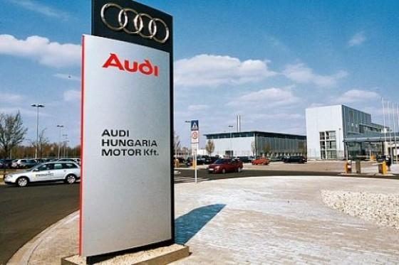 Hetedik napja folytatódik a sztrájk a győri Audiban