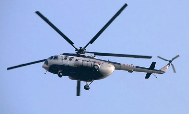 Helikopterrel szállítottak egy sérültet egy pozsonyi kórházba