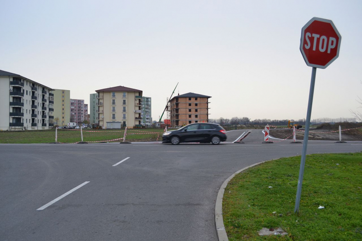 Mától egy hétre lezárják a dunaszerdahelyi Tesco mögötti kereszteződést