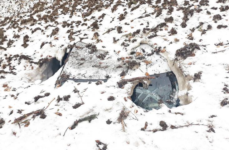 MEGÁLL AZ ÉSZ: Elolvadt a hó a szlovák hegyekben, és meglett egy lopott Audi!