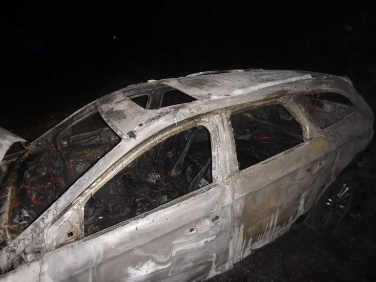Két autót gyújtottak fel Gútoron