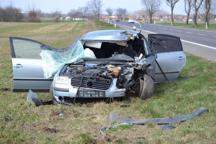 7 nap alatt 6-an sérültek meg 5 baleset során a Dunaszerdahelyi járásban