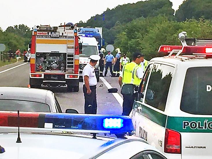 Belehalt sérüléseibe a másik biciklis is, akit az ismert szlovák fitneszlány gázolt el