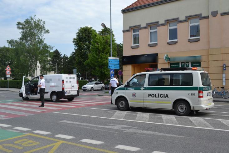 Gyalogost ütöttek el Dunaszerdahely belvárosában