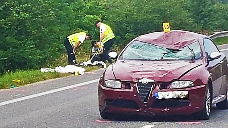Meghalt az egyik elgázolt kerékpáros, a másik az életéért küzd