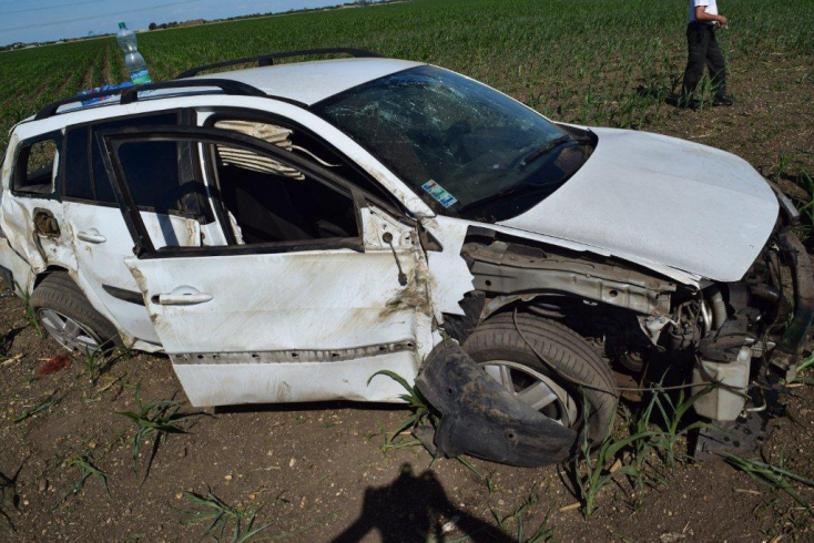 BALESET: Részeg sofőr forgott fel Csallóközcsütörtök mellett!