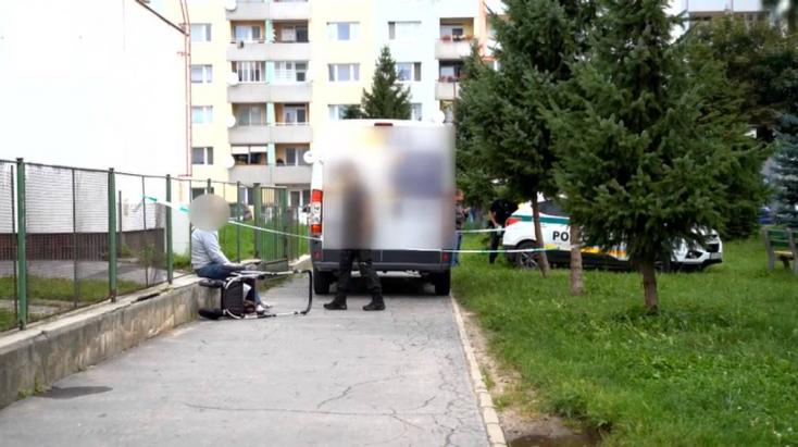Apuka tolta a babakocsiban féléves kislányát, amikor nekik tolatott egy furgon!