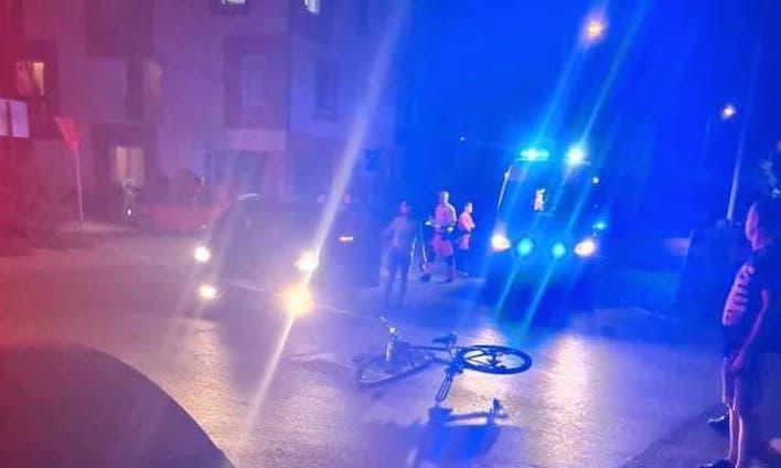 Elütöttek egy bicajost Dunaszerdahelyen, szerencsére nagyobb baja nem történt