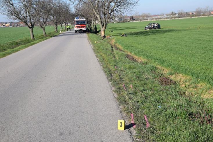 Halálos baleset történt az Érsekújvári járásban
