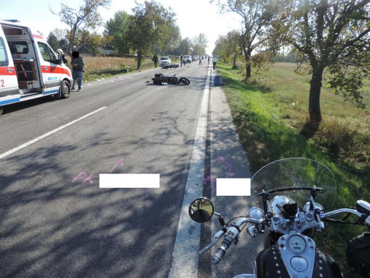 SÚLYOS BALESET: Kisgyerek is ült a motoron, melybe belehajtott egy másik!