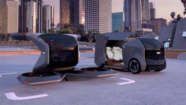 Futurisztikus repülő Cadillacet mutatott be a General Motors (videó)