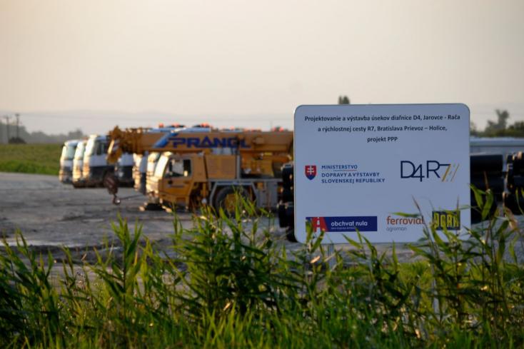 Újabb forgalomkorlátozások a Csallóközben az R7-es építése miatt