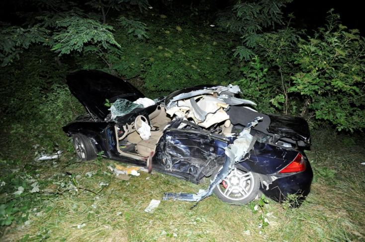 Halálos baleset történt a magyarországi M0-son