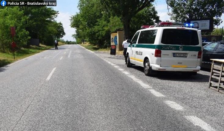 SÚLYOS BALESET: Elgázoltak egy 11 éves gyereket Pozsonyban